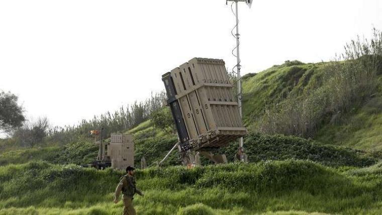 إسرائيل يتكشف تفاصيل اعتراض القبة الحديدية صواريخ غزة