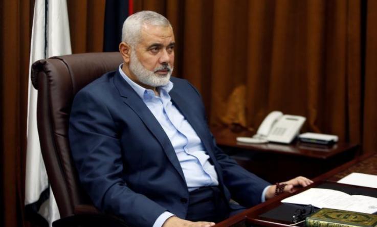 إسماعيل هنية: اتصالات تجري مع المصريين لتأمين عودة ياسر الزعزوع