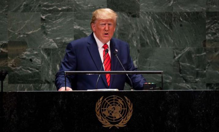 الرئيس الأمريكي يقرر عدم الحضور شخصيا لاجتماع الجمعية العامة للأمم المتحدة