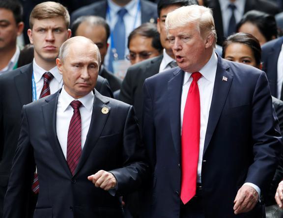 بوتين يقترح على الولايات المتحدة تبادل وعود بعدم التدخل بالانتخابات
