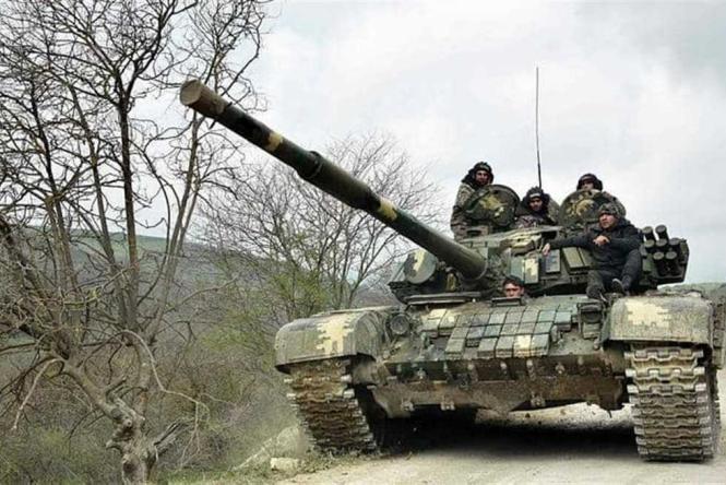 احتدام المعارك بين القوات الأذربيجانية والأرمينية