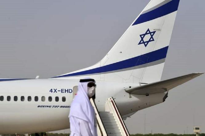 لأول مرة.. طائرة صهيونية تعبر الأجواء السعودية في طريقها للبحرين