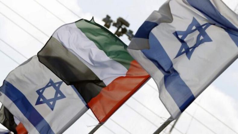 وزير الصناعة الإماراتي يبحث التعاون مع وزير إسرائيلي
