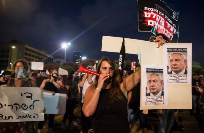 الكنيست الإسرائيلي تصوت اليوم على قانون كورونا لمنع التظاهرات