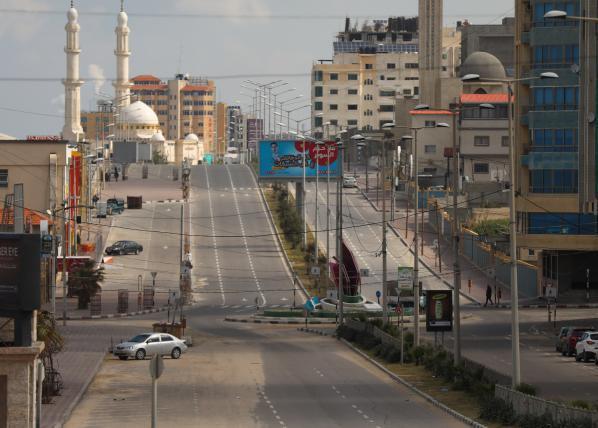 الداخلية تقرر تشديد إجراءات الإغلاق في مناطق غزة والشمال