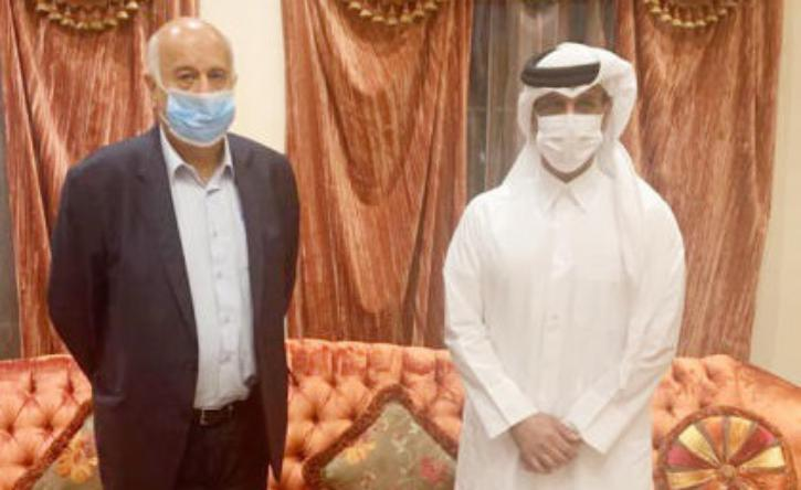اللواء الرجوب يبحث سبل تعزيز التعاون مع الاتحاد القطري لكرة القدم