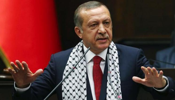 أردوغان: لن تدعم أية خطة لا يكون الشعب الفلسطيني راضي عنها