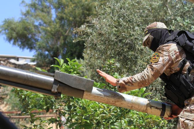 الجيش الإسرائيلي تتهم الجهاد بإطلاق الصواريخ على عسقلان الليلة الماضية