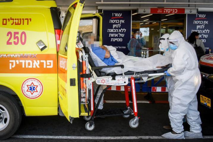 """تسجيل 7 وفيات و1095 إصابة جديدة بـ """"كورونا في إسرائيل"""""""
