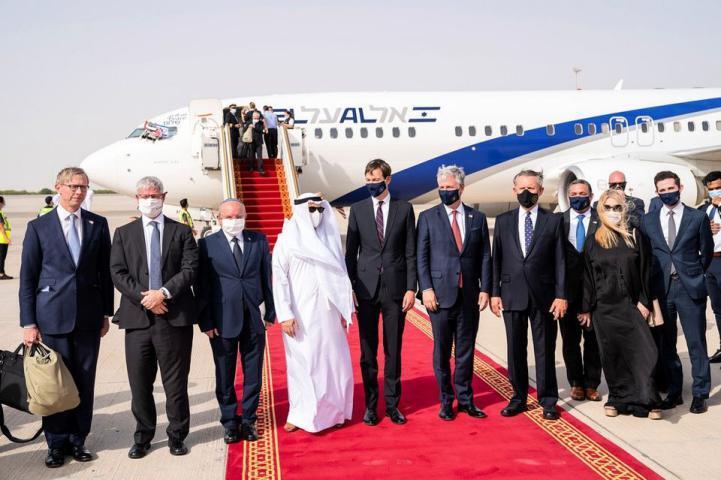 وفد حكومي إماراتي يتوجه إلى إسرائيل لأول مرة
