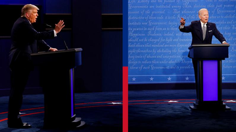 المناظرة الأخيرة.. أبرز تصريحات وتطورات مواجهة ترامب وبايدن قبل لانتخابات الأمريكية (فيديو)