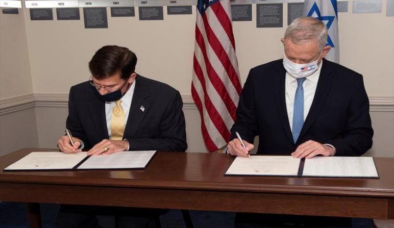 الولايات المتحدة تتعهد خطياً الحفاظ على التفوق العسكري الإسرائيلي