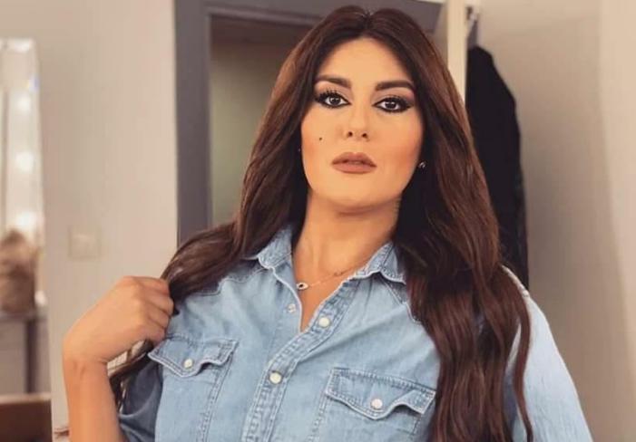 الإعلامية السورية الملكة كندة حيدر مذيعة قناة trt التركية