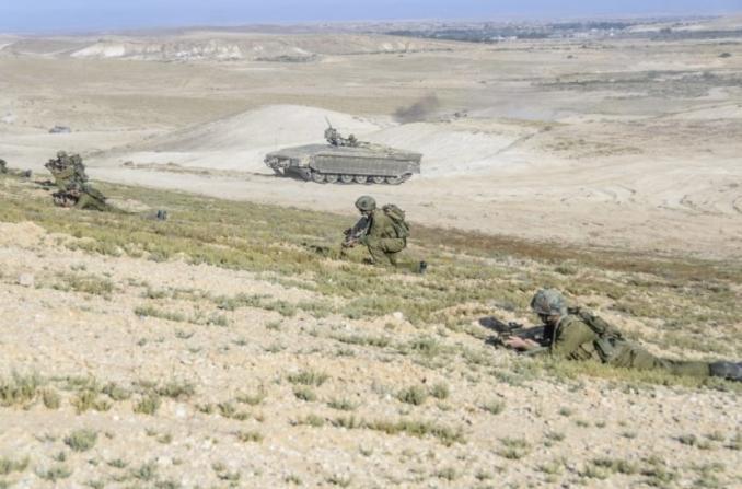 """الجيش الإسرائيلي يجري غدًا مناورة عسكرية في منطقة """"غلاف غزة"""""""