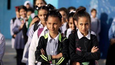 التعليم بغزة تعلن موعد وآلية عودة طلبة الإعدادية والثانوية للمدارس (صورة)