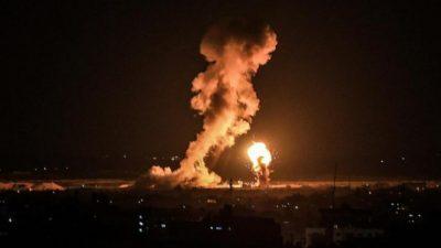 الطيران الإسرائيلي يشن سلسلة غارات على قطاع غزة
