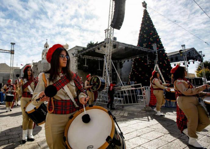 """توصية بإلغاء احتفالات أعياد الميلاد في بيت لحم بسبب """"كورونا"""""""