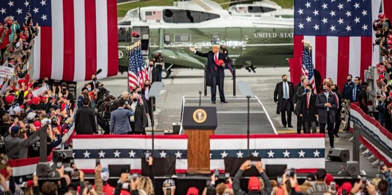 """ترامب يعيد الكَرّة: """"لقد فزت بالانتخابات"""""""