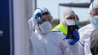 كورونا إسرائيل :754 إصابة جديدة بفيروس كورونا