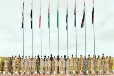 """بالفيديو.. 6 جيوش عربية تجتمع بقاعدة عسكرية في تدريب """"سيف العرب"""""""