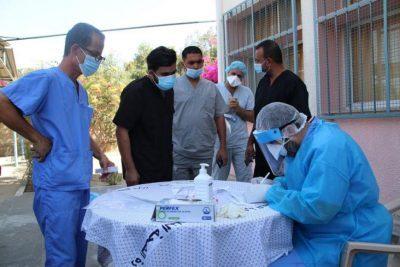 """صحة غزة تسجل حالتي وفاة بفيروس """"كورونا"""" و922 إصابة وتعافي 270 آخرين"""