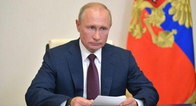 بوتين: كورونا ضربت الاقتصاد العالمي بشدة وأدت إلى الركود
