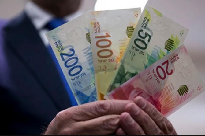 أسعار صرف العملات مقابل الشيكل صباح اليوم