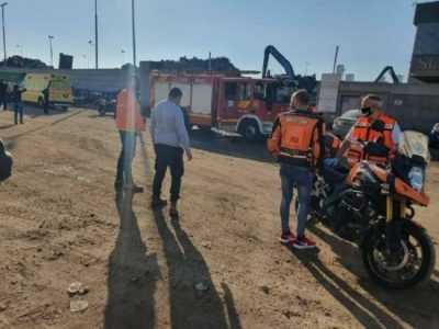 الاعلام العبري يؤكد مصرع إسرائيليين بانفجار داخل المنطقة الصناعية في أسدود
