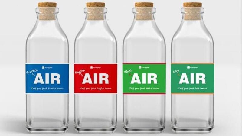 شركة بريطانية تبيع هواء معبأ لمن يشعر بالحنين إلى الوطن