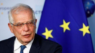 بوريل: لولا دعم الاتحاد الأوروبي للسلطة لما كانت موجودة اليوم