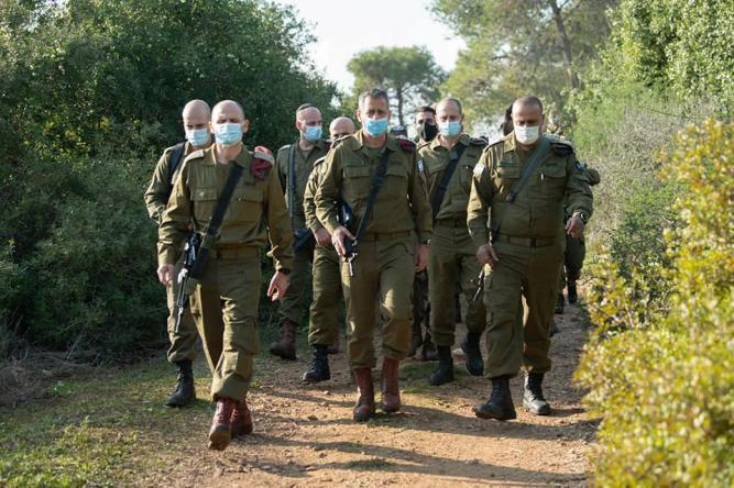 مناورات عسكرية إسرائيلية في غلاف غزة