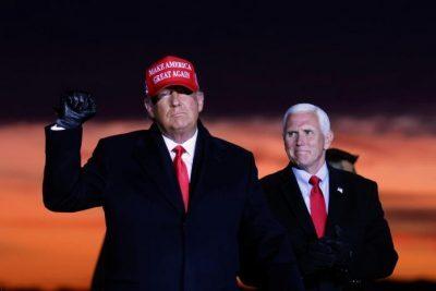 ماذا دار بين ترامب وبنس بعد اقتحام الكونغرس؟