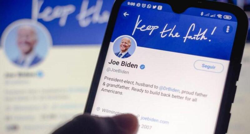 في أول تغريدة له كرئيس.. بايدن :