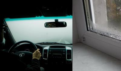 كيف توقف تعرق زجاج السيارات والشقق من الداخل مستقبلا ؟