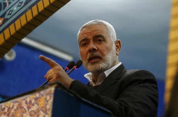إسماعيل هنية يدعو لبناء كتلة صلبة تتوافق مع خيار الانتفاضة واستمرار المقاومة