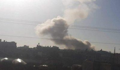 إصابات خلال انفجار ضخم هز شمال قطاع غزة