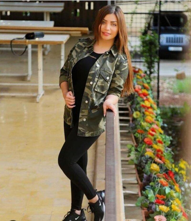 العارضة الأزياء اللبنانية زينة كنجو