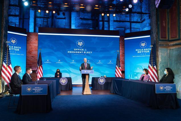 بايدن يكشف النقاب عن حزمة إغاثة بقيمة 1.9 تريليون دولار أمريكي لمكافحة الوباء وتعزيز الاقتصاد