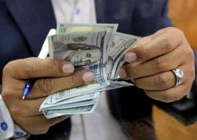 طالع سعر صرف الدولار اليوم مقابل الشيكل