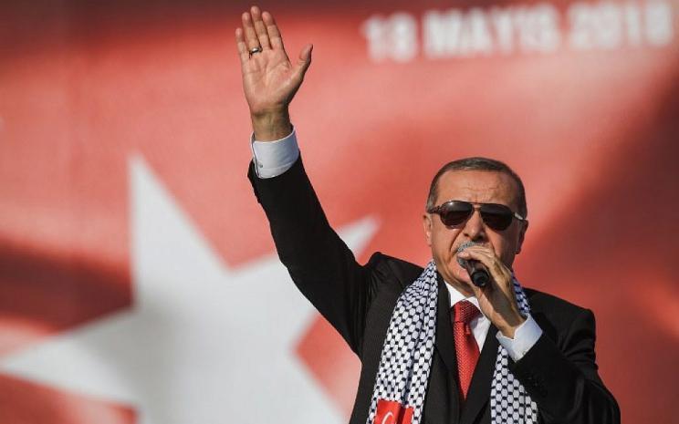 أردوغان يزف بشريات جديدة لبلاده في مجال الفضاء والأقمار الصناعية