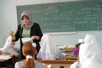 الأونروا: هناك حاجة لتوظيف 1070 معلماً بعقد يومي بغزة