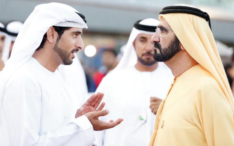شاهد فيديو طريف.. ولي عهد دبي