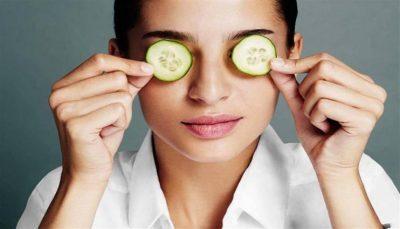 فوائد الخيار للعيون.. شرائح الخيار قد تكون علاج لمشاكل العيون
