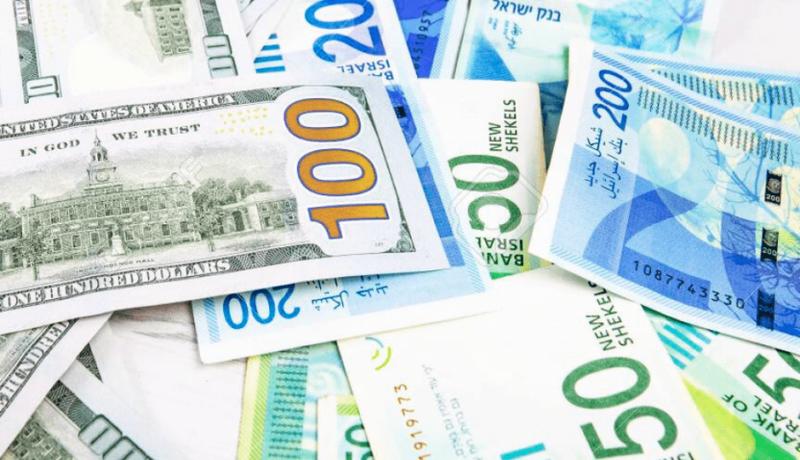 أسعار صرف العملات - الدولار اليوم مقابل الشيكل