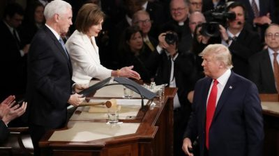 بيلوسي: نسعى لتوضيح من مجلس الشيوخ بشأن الاستعداد لمحاكمة ترامب