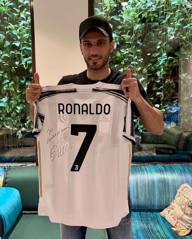 هدية من كريستيانو رونالدو لـ