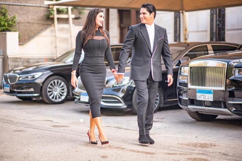 ياسمين صبري وزوجها أحمد أبو هشيمة
