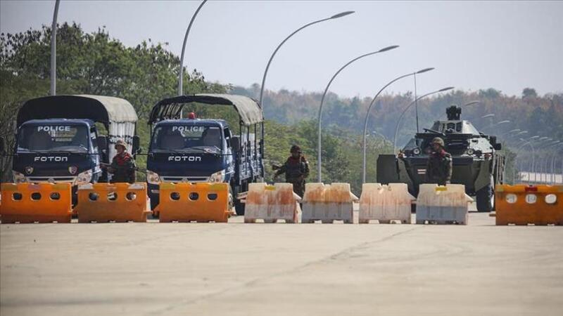 انقلاب ميانمار.. الأجهزة الأمنية تستخدم الرصاص المطاطي وتوسع نطاق الحظر