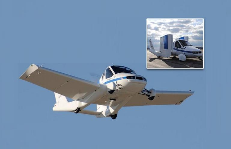 شركة صينية تطلق قريباً أول سيارة طائرة في العالم