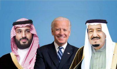 """بايدن يبلغ الملك سلمان: """"الولايات المتحدة ستعلن عن تغييرات مهمة في السياسة تجاه السعودية"""""""